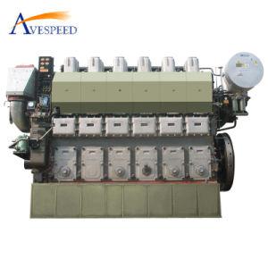 Двигатель дизеля морского пехотинца серии 2207kw-3310kw Yanmar N330