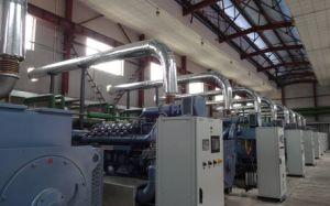 поколение природного газа 700kw совмещенное Cogeneration жары и силы