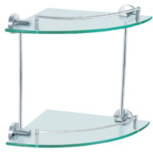 Prateleira de vidro do banheiro do canto Shelf/Bathroom Shelf/Glass