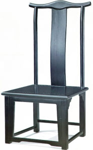 Chaise en bois de château de qualité (EMT-HC35)