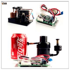 Dc 12v peque o compresor inverter de refrigeraci n y for Aire acondicionado autocaravana 12v