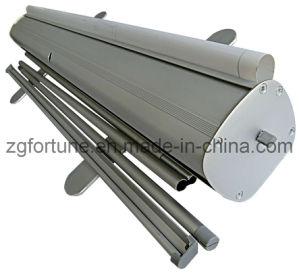 Aluminum mais pesado Roll acima de Banner Stand (pés de alumínio cheios) (FB-LV-10)