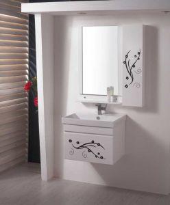 PVC Bathroom Cabinet Vanity 151の新しいDesigns Highquality