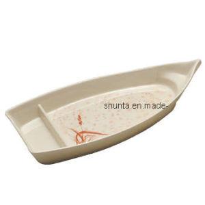 plaque 100 de forme de bateau de dinnerwared de m lamine aga66 plaque 100 de forme de. Black Bedroom Furniture Sets. Home Design Ideas