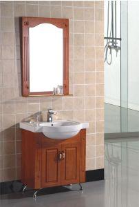 浴室CabinetかOak Bathroom Cabinet (809)