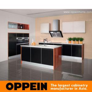 Gabinetes de cocina de madera modernos de Oppein (OP11-X143)