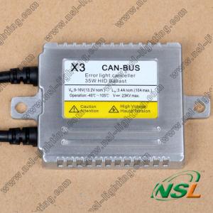 Le meilleur travail CACHÉ de Canbus X3 X5 de ballast de xénon parfaitement sur le benz etc. de BMW