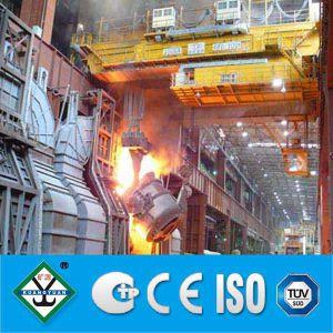 Fundición, Casting, Ladle Overhead Crane para Steel Mill (QDY, YZ)