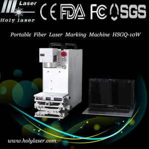 Laser Marking Engraving Machine de fibre pour Metal Jewelry Ring Stone et Knife