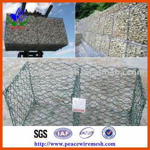 PVC-beschichteter/galvanisierter Gabion Kasten (RENO001)