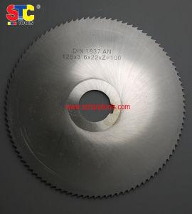 El rajar del metal del acero de alta velocidad consideró la lámina