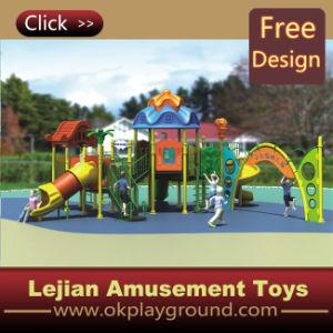 Enfants Amusement Module de jeu extérieur en plastique Aire de jeux pour le parc (12038A)