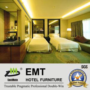 Duoble-Bde modernes d'ensemble de chambre à coucher d'hôtel (EMT-B1202)