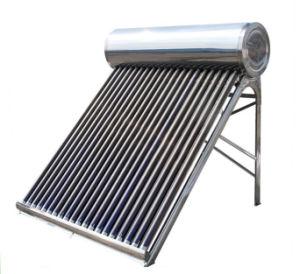 Chauffe eau solaire nergie solaire d 39 acier inoxydable for Plaques solars termiques