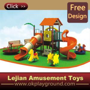 CE merveilleux coffrets de jeu pour enfants plastique en plein air Aire de jeux pour l'école (12084A)