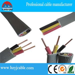 Pvc cable plano cubierta exterior de cable de cobre del - Cable electrico exterior ...