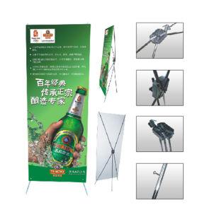 Plástico X Stander (tipo da borboleta, ferro Pólo) (FT-XC)