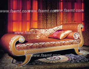 Meubles luxueux de chambre à coucher d'hôtel (EMT-D1201)