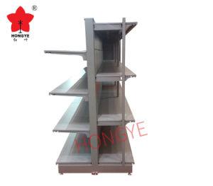Crémaillères d'aménagement de système de présentoir en métal d'hypermarché (HY-102)