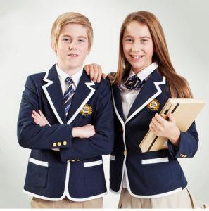 2014 uniforme scolaire, blazer d'école