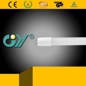 Lumière en plastique approuvée de tube de RoHS 6500k 10W DEL de la CE