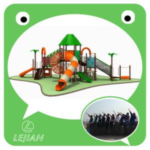 CE en Europe standard en plastique multi aire de jeux extérieure pour Park (12057A)
