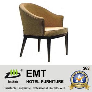Chaise en bois confortable d'hôtel de forme gentille (EMT-HC63)
