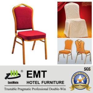 Chaise de empilement en acier en aluminium de banquet de mariage d'hôtel des prix concurrentiels (EMT-HC81)