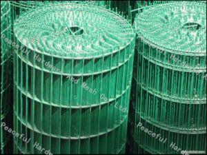 PVC beschichteter geschweißter Europanel-Zaun/geschweißter Draht-Zaun (HP-HLW03)