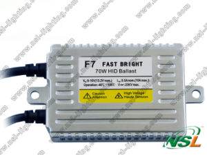F7 Fast Bright 12V 70W Slim HID Ballast