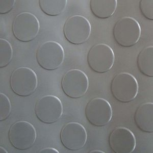 De PVC étage de glissade non Mat&Carpet avec le modèle différent