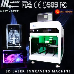 laser Engraving Machine (HSGP-4KB) de 3D Printer Inside Crystal