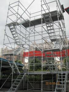 Stairway modular da plataforma do Andaime-Aço de Kwikstage