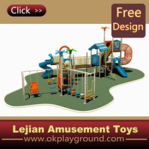 CE incroyable plastique attractions pour enfants Aire de jeux extérieure
