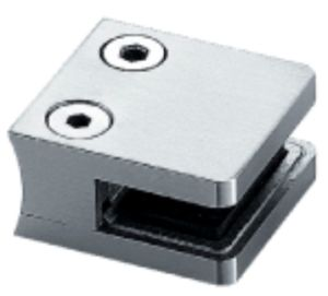 Grampos de vidro de aço da braçadeira/corrimão dos trilhos (FS-3003)