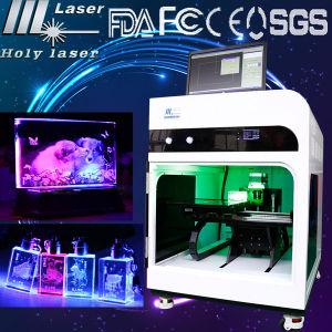 machine de gravure intérieure en cristal du laser 3D (HSGP-4KD)