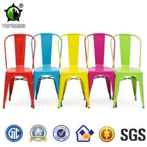 chaise color e durable antique industrielle de caf de chaise en m tal de vingage chaise. Black Bedroom Furniture Sets. Home Design Ideas