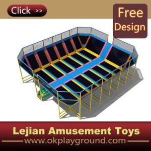 CE Vente chaude Amusement Park Lits Trampoline (TP1201-5)