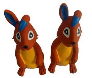 Het Stuk speelgoed van de hond, het Stuk speelgoed van het Latex eco-Firendly, het Stuk speelgoed van het Huisdier