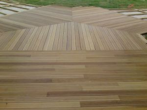 plancher en bois ext rieur de decking de teck plancher en. Black Bedroom Furniture Sets. Home Design Ideas