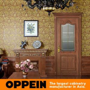 porte int rieure d 39 oscillation en bois classique de placage d 39 oppein yde003d porte int rieure. Black Bedroom Furniture Sets. Home Design Ideas