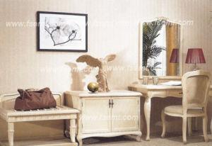 Jumeau-Lit réglé de beaux d'hôtel meubles de chambre à coucher (EMT-B0902)