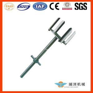 Cabeça galvanizada da forquilha para suportes do molde com qualidade superior