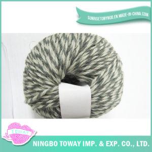 Aparência clara que tece tricotando manualmente o fio extravagante -7 de lãs