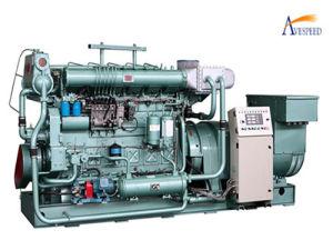 350kw Small Power Marine Diesel Generator Set (350GF)
