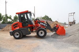 ER15 multifunctionele Wheel Loader With 4in1 Bucket (Ce)