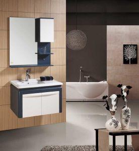 浴室用キャビネット新しいPVC浴室の虚栄心(W-207)