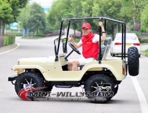Mini-jeep Willys de nouvelle taille pour adultes de 2016 disponible sur un moteur Gy6 de 150 cc et 200 cc