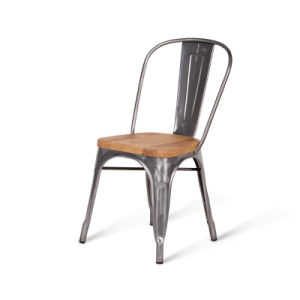 m tal de tolix marais dinant la chaise en bois de si ge de. Black Bedroom Furniture Sets. Home Design Ideas