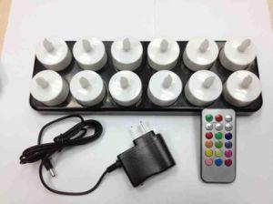 lumi re rechargeable de bougie de led avec t l commande lumi re rechargeable de bougie de led. Black Bedroom Furniture Sets. Home Design Ideas